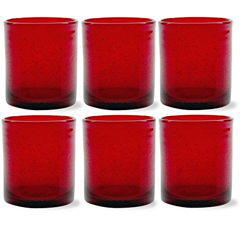 Tag Bubble Glass Double Old Fashioned Glasses - Set of 6