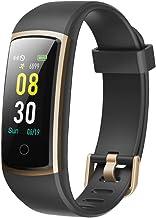 YAMAY Fitness Armband mit Blutdruckmessung,Smartwatch Fitness Tracker mit Pulsmesser..