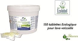 150 Tablettes Tout en 1 Ecologique pour lave-vaiss