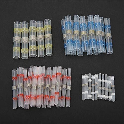 50 unids/set Kit de Terminal de tubo de anillo de soldadura conector...