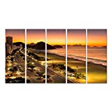 islandburner Bild Bilder auf Leinwand Copacabana Strand im