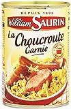 WILLIAM SAURIN - Choucroute garnie au vin blanc William Saurin - 400 g - Surgelé