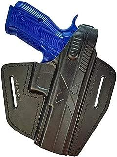 VlaMiTex B15 Black Leather Holster for CZ Shadow 2 / P-09 / SP-01 Shadow 1 / Phantom