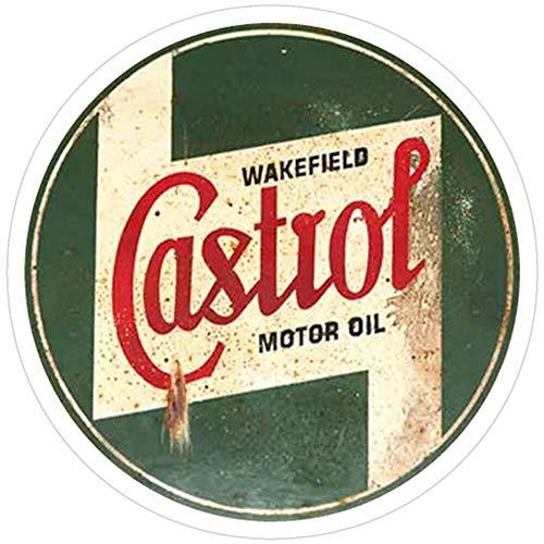 Rangerpolocon Castrol Vintage Logo Rusty Oldschool Aufkleber (3 Stück/Pack) 9654039686510