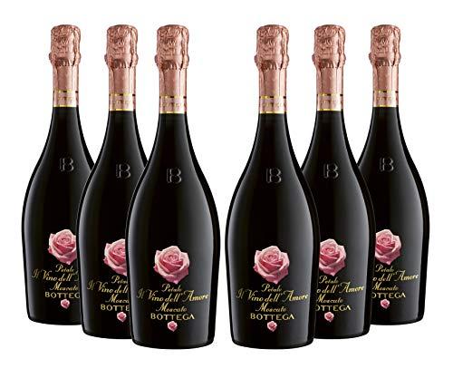 Petalo_Vinos espumoso y champanes - 6 Paquetes de 6 x 125 ml - Total: 4500 ml
