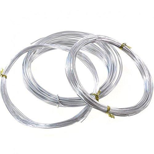 Inalámbrico Cablé en aluminio () 1 unidad, color plateado, diámetro: 1,5 mm
