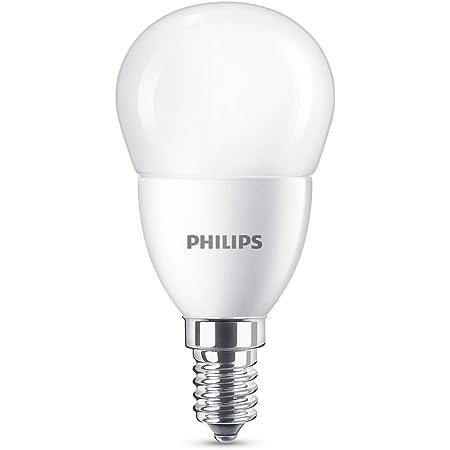 Philips Lighting 8718696702895 Philips Ampoule LED E14, 7W équivalent 60W, Plastique, blanc, 9,3 x 4,8 cm