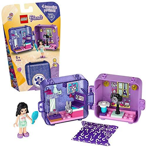 LEGO Friends - Cubo de Juegos de Emma, Caja de Juguete con Accesorios y Mini Muñeca de Emma, Set Recomendado a Partir de 6 Años (41404) , color modelo surtido