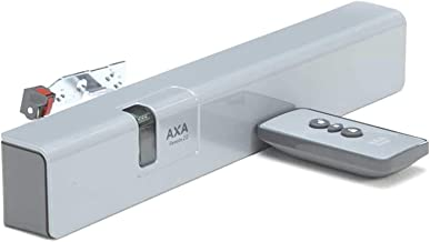 AXA Remote 2.0 raamopener met afstandsbediening, klapvleugelvenster, grijs-wit, alu-line