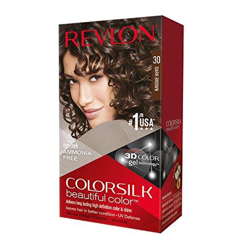 Revlon Color Silk Beautiful Hair Color, Dark Brown 30