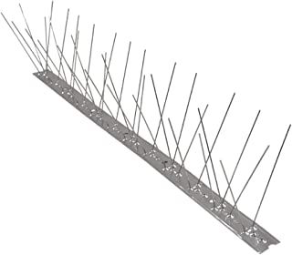 Stainless Steel Bird Spikes for Pigeons and Other Small Birds, Contains no Plastic - 100 Centimetre
