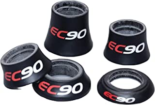 EC90 Carbon Fiber Road Bicycle Conical Headset Spacer 1 1/8'' MTB Bike Parts Fork Headset Carbon Height 8.5 20mm 28.6mm Matte
