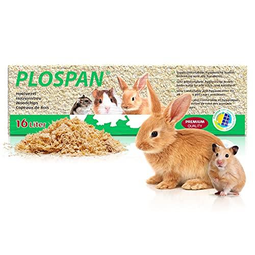 Nobleza La Ropa de Cama de Animales pequeños se Puede Utilizar para hámsters, Ratones, Ratas, Conejillos de Indias, astillas de Madera Originales 16L