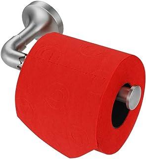 JQK Dora Toilet Paper Holder, 5 Inch 304 Stainless Steel Tissue Paper Dispenser for Bathroom, Hold Mega Rolls, Brushed Nickel Wall Mount, TPH300-BN