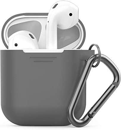 PodSkinz Keychain AirPods Case with Carabiner Compatible...