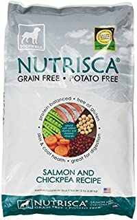 Dogswell Nutrisca Dog Food, Salmon and Chickpea, 15-Pound Package by Dogswell