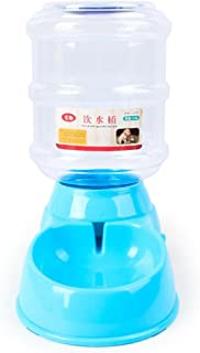 Letdown Pet Dog Water Device, 3.5 L Pet Dog Cat Automatic Water Dispenser Device Bottle Dish