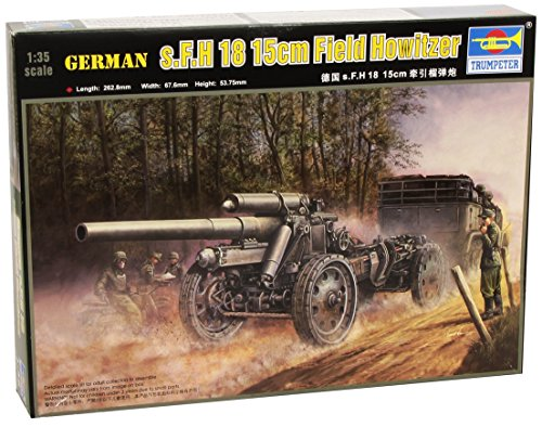 Trumpeter 1/35 German 15cm s.FH 18 Field Howitzer Model Kit