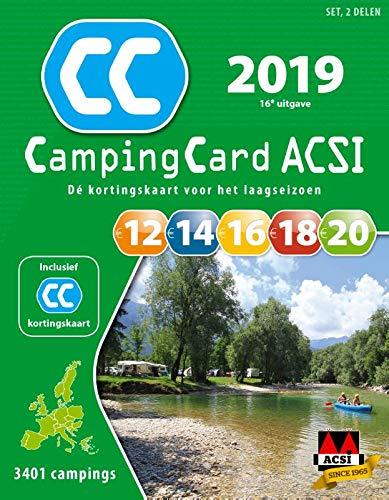 ACSI CampingCard set 2019 (ACSI Campinggids)