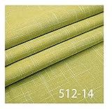 VIAIA Tela de Lino de Tela Llano Telas de Telas de Telas para Material de Costura para Cortina o sofá DIY Costura (Color : 14, Size : 50x150cm)