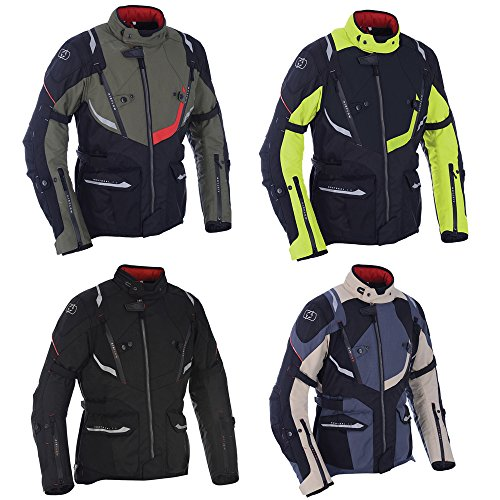 TM171202S - Oxford Montreal 3.0 Motorcycle Jacket S Black Fluo (38)