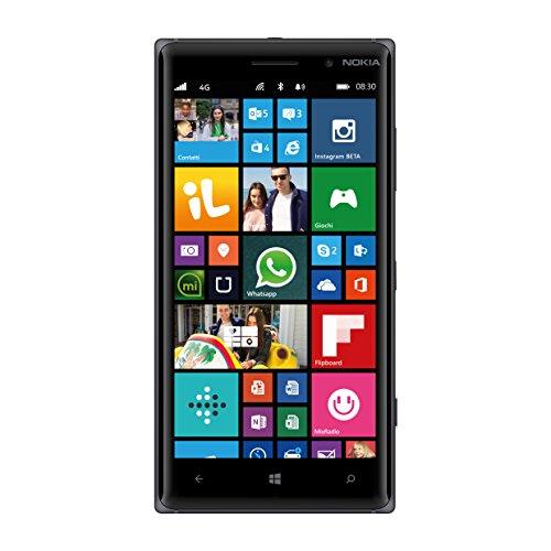 Nokia Lumia 830 Smartphone, 16 GB, Fotocamera da 10 MP, Display da 5'', LTE, Arancione [Italia]