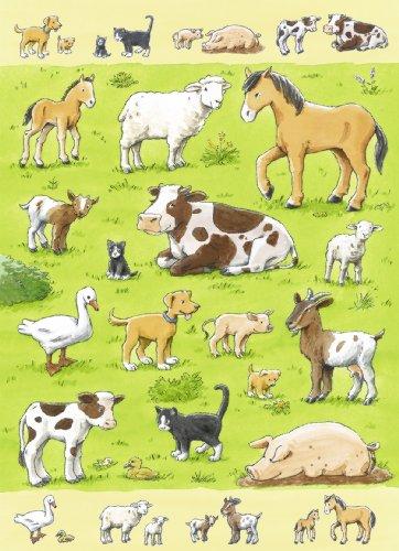 Puzzle 80 pièces - Puzzle Educatif - Les Animaux et leurs Enfants