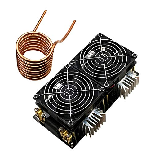 YO-TOKU 50A 2000W Low Voltage 12V-48V Induction Heating Board High Frequency Tesla coil Flyback Driver Heater Power Supply Module DIY Modules CE