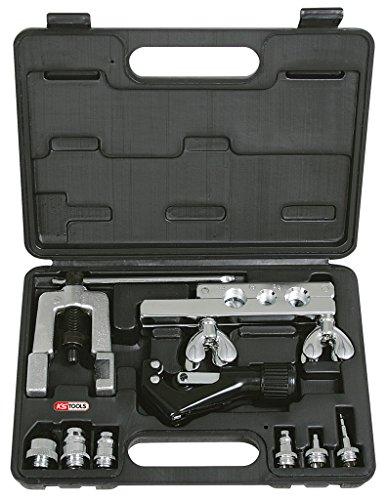 """KS Tools 122.1100 Set per Preparazione Tubi per Impianti di Condizionamento 1/8""""-3/4"""", 10 Pezzi"""
