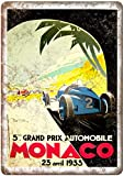 KODY HYDE Metall Poster - Monaco Grand Prix Automobile -
