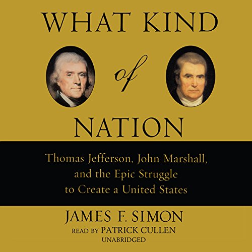 What Kind of Nation audiobook cover art