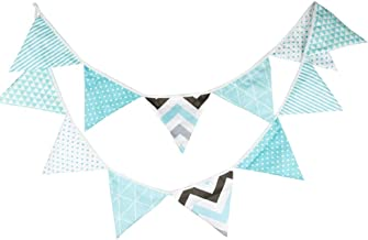 fabric letter bunting