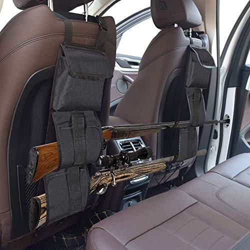 N \\ A Autositz-Rücken-Waffenständer, Jagd-Waffenriemenhalter, Universal-Auto-verdeckter Sitz-Rücken-Gewehrhalter-Organizer für SUV-Fahrzeuge