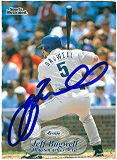 jeff bagwell autograph card