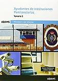 Ayudantes, Instituciones Penitenciarias. Temario 2
