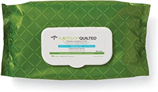 Aloe Touch Quilted Wipes, ALOETOUCH, ph-balanced, Hypoallergenic, 8X12, 48/PK - 12 Pack photo