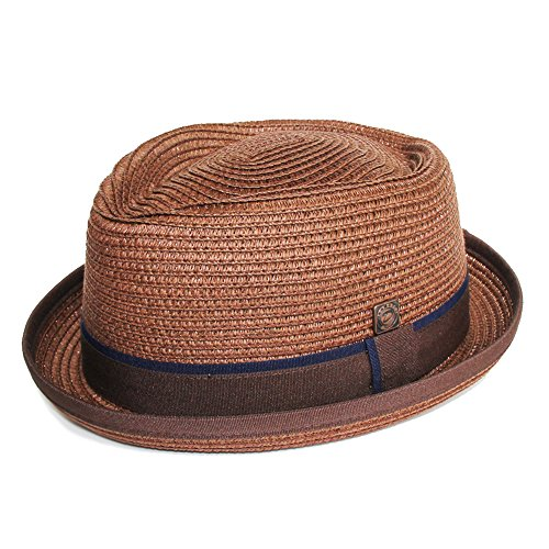 DASMARCA-collection été-chapeau de paille porkpie marron-Durban-L