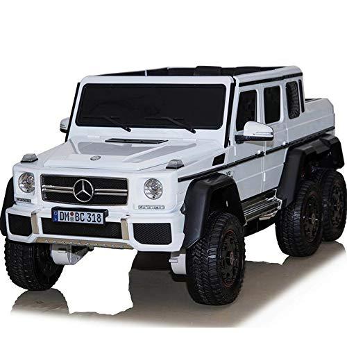 UK Lizenzierter G63 24V 6 x Wheel Ride auf Auto Jeep mit Fernbedienung - Weiß