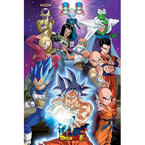 ABYstyle - Dragon Ball Super - Poster - Universum 7 (91,5x61 cm)
