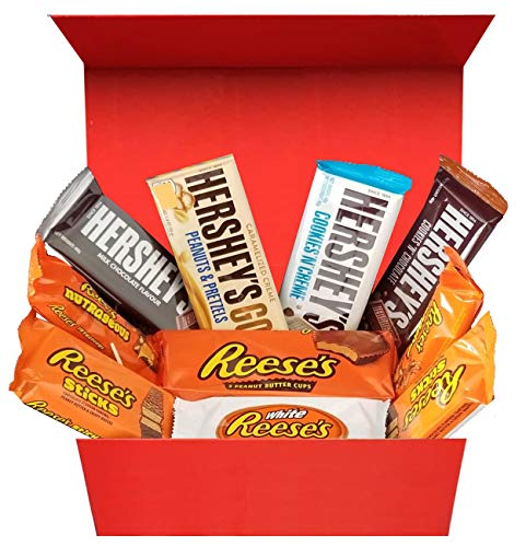 US Chocolate Selection Box USA - Surtido Perfecto De Chocolate Hersheys y Reese