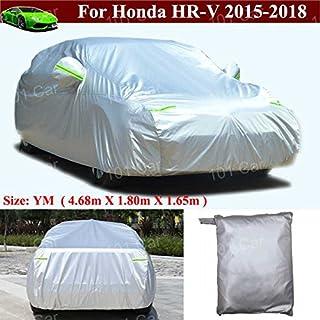 Yilaite Wasserdicht, winddicht, staubdicht, kratzfest, für SUV, Auto Sonnenschutz, UV Schutz, für Honda HR V HRV (L x B x H: 100x 71cm, 65x 65cm
