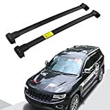 Snailfly Black Crossbars Fit for 2011-2021 Jeep Grand Cherokee...