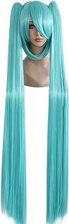 Mtxc Vocaloid Cosplay Hatsune Miku 130cm Wig Aqua Green