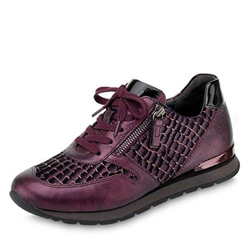 Gabor Damen Sneaker CocoGlitt/Perl/Lack 96.369.68 rot 555141
