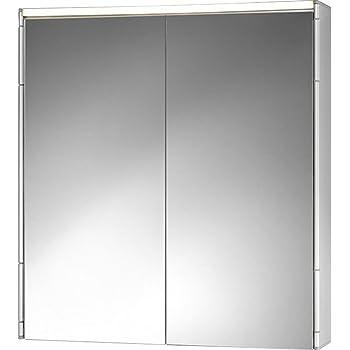 Spiegelschrank Alueco Aluminiumspiegelschrank Mit Beleuchtung