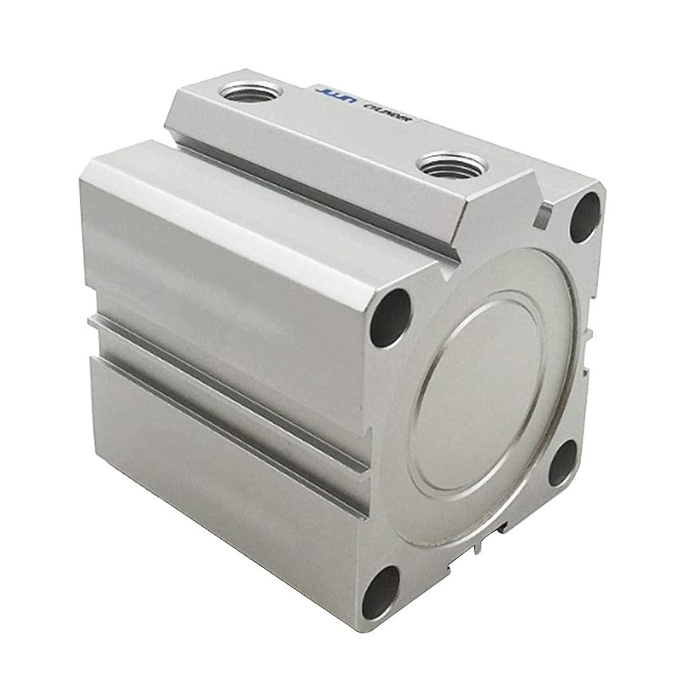 男やもめ証人ポータル複動形薄型エアシリンダ 複動形50mm内径 全14サイズ 置き換え - 60mmストローク