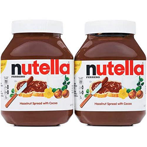 Nutella Chocolate Hazelnut Spread 2Pack (35.3oz Jar Each) Hytdsw