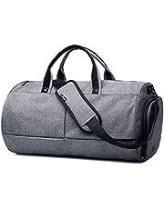 حقيبة دفل بوليستر لل للجنسين,رمادي - حقائب دفل للنشاطات الرياضية والخارجية