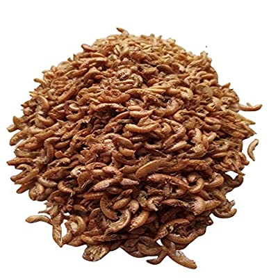 HALF PRICE DRIED GAMMARUS SHRIMP FOR TROPICAL AND FRESHWATER FISH AS FOOD OR TREATS - Natural Shrimp Food for Tropical and Freshwater Fish