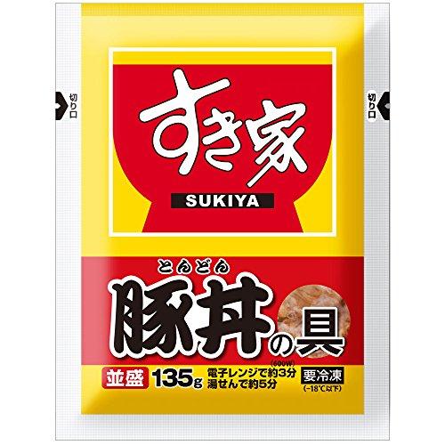 すき家 豚丼の具並盛 5パック (135g×5)